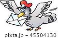 ポスト 郵便 配置のイラスト 45504130