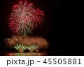 花火 三国花火大会 若狭湾の写真 45505881