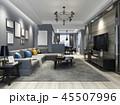 家具 インテリア リビングルームのイラスト 45507996