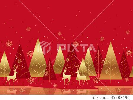 シームレスなクリスマスの背景 45508190