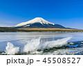 富士山 山中湖 冬の写真 45508527