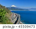 富士山 駿河湾 東名高速道路の写真 45509473