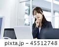 ビジネス ビジネスウーマン 女性の写真 45512748
