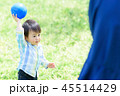 男の子 ボール 子どもの写真 45514429