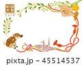 年賀状 亥年 うり坊のイラスト 45514537