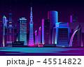 街 都会 都市のイラスト 45514822