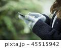 冬服の女性 45515942