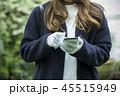 冬服の女性 45515949
