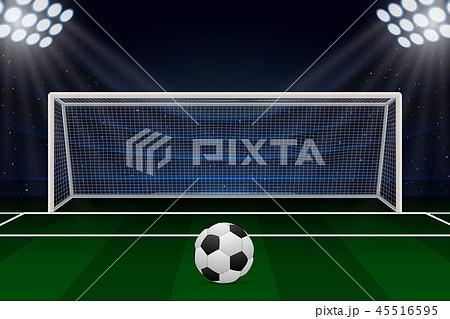 Realistic Football goal 45516595