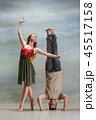 カップル 二人 夫婦の写真 45517158