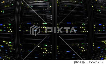 Modern server data center 45524737