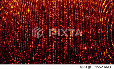 3D rendering of abstract falling bright particles 45524883