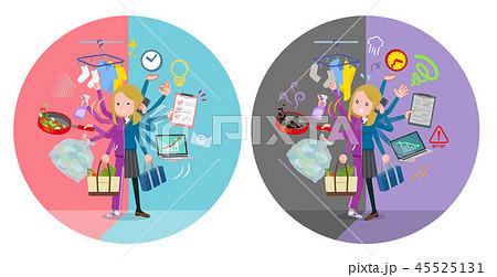 flat type fair girl purple jerse_mulch task switch 45525131