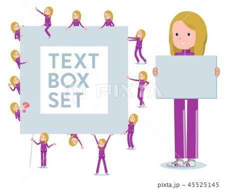 flat type fair girl purple jersey_text box 45525145