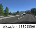 高速道路を走る車 45526699