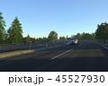高速道路を走る車 45527930