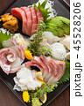 和食 刺身 盛り合わせの写真 45528206