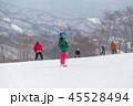 スノーボード 冬 雪の写真 45528494