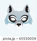 動物 デコレーション 装飾のイラスト 45530039