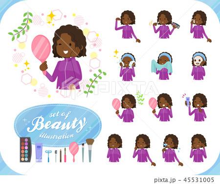 flat black girl purple jersey_beauty 45531005