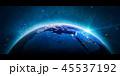 ヨーロッパ 地中海 地球のイラスト 45537192