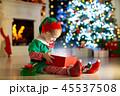 クリスマス xマス 子供の写真 45537508