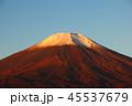 朝 富士山 風景の写真 45537679
