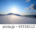 鳥取砂丘 雪 風景の写真 45538112