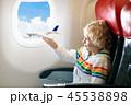航空機 子 子供の写真 45538898
