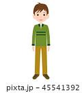 男性 人物 全身のイラスト 45541392
