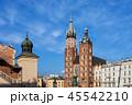 クラクフ スカイライン 聖堂の写真 45542210