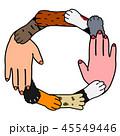 動物と人間 協調 デザイン 45549446