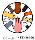 動物と人間 協調 デザイン 45549449