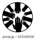 動物と人間 協調 デザイン 45549456