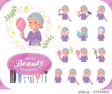 flat type grandma Sportswear_beauty 45549840
