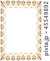 フレーム 枠 コピースペース 背景素材 45549892