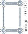 フレーム 枠 コピースペース 背景素材 45549894
