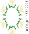 フレーム 枠 コピースペース 背景素材 45549903