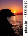淡路島の夕日 45554049