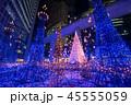 クリスマス ネオン イルミネーションの写真 45555059