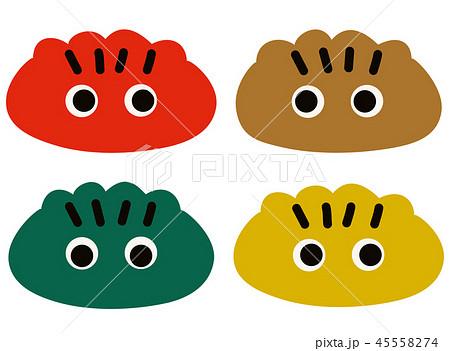 きぶなカラーの餃子のキャラクター 45558274