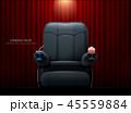 シネマ 映画館 ムービーのイラスト 45559884