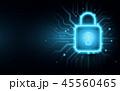 セキュリティ セキュリティー 安全のイラスト 45560465