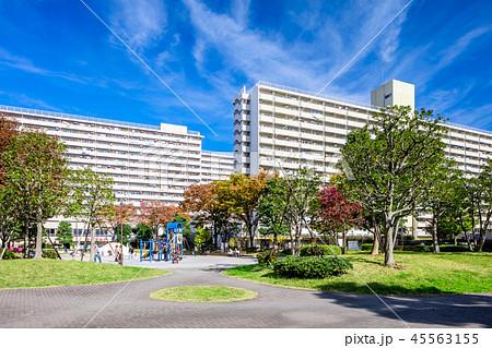 東京 高島平団地の風景 45563155