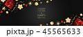 クリスマス 金 黄金のイラスト 45565633
