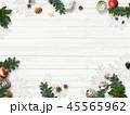 クリスマス 背景 壁のイラスト 45565962