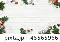 クリスマス 背景 壁のイラスト 45565966