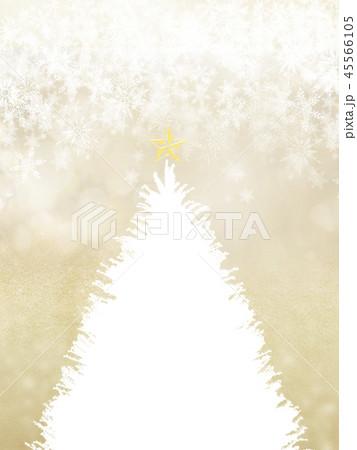 背景-クリスマス-ツリー-星-ゴールド-雪 45566105