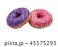 Two isolated donuts. 45575293