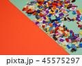 Colorful plastic construction toys. 45575297